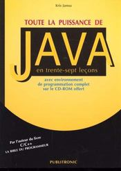 Toute La Puissance De Java - Intérieur - Format classique