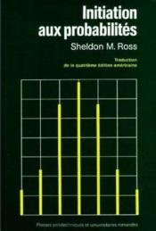 Initiation aux probabilités - Couverture - Format classique