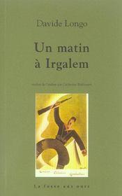 Matin A Irgalem (Un) - Intérieur - Format classique