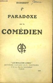 Paradoxe Sur Le Comedien. Collection : Les Meilleurs Livres N° 103. - Couverture - Format classique