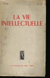 LA VIE INTELLECTUELLE - 14e ANNEE - Couverture - Format classique