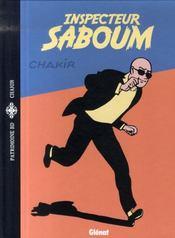 Inspecteur Saboum - Intérieur - Format classique