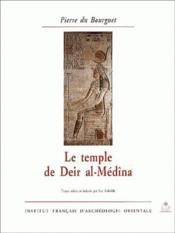 Le temple de Deir al-Médîna - Couverture - Format classique