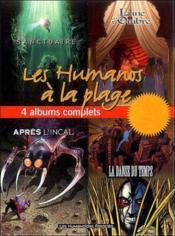 Les humanos à la page - 4 Album Tranche verte - Couverture - Format classique