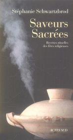 Saveurs sacrées - Intérieur - Format classique