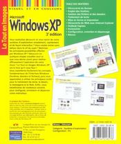 Windows Xp Tei - 4ème de couverture - Format classique