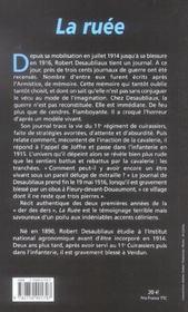 La Ruee - 4ème de couverture - Format classique