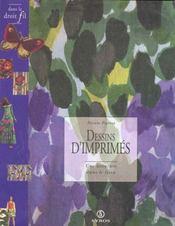 Dessins D'Imprimes : Une Aventure Dans Le Tissus Francais - Intérieur - Format classique