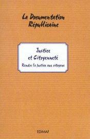 Justice et citoyenneté - Intérieur - Format classique