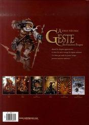 La geste des chevaliers dragons t.6 ; par-delà les montagnes - 4ème de couverture - Format classique