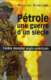 Pétrole : une guerre d'un siècle - Intérieur - Format classique