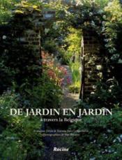 De jardin en jardin à travers la Belgique - Couverture - Format classique