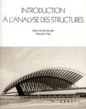 Intro A Analyse Structure - Couverture - Format classique