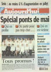Aujourd'Hui En France N°583 du 29/04/2003 - Couverture - Format classique