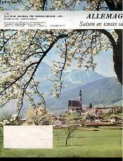 Allemagne - Saison En Toutes Saisons - Depliant - Couverture - Format classique