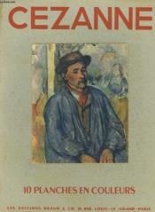 Cezanne. Pochette De 10 Planches En Couleurs. - Couverture - Format classique