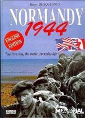 Normandie 1944 - Couverture - Format classique