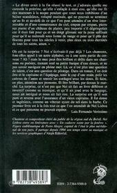 Un Cadavre Saute Par La Fenetre - 4ème de couverture - Format classique