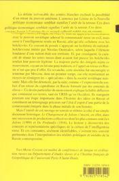 Changement De Jalons (Le) - 4ème de couverture - Format classique