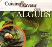 Cuisine et saveur des algues ; les clés d'un équilibre gourmand - Intérieur - Format classique