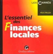 Essentiel des finances locales (l') - Couverture - Format classique