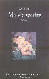 Ma vie secrète t.1 et t.2 - Intérieur - Format classique