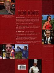 Mets et vins ; 10000 accords, 1000 plats - 4ème de couverture - Format classique