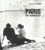 Paris En Memoire - Couverture - Format classique