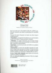 Géographie gastronomique - 4ème de couverture - Format classique