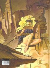 Chimères t.1 ; Aphrodite - 4ème de couverture - Format classique