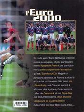 En Route Vers L'Euro 2000 - 4ème de couverture - Format classique