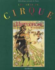 Les arts du cirque - Couverture - Format classique