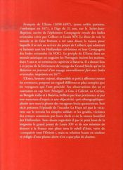 Voyage de françois de l'estra aux indes orientales 1671-1675 - 4ème de couverture - Format classique