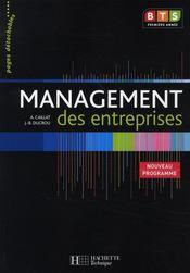 Management des entreprises ; BTS 1ère année - livre de l'élève détachable (édition 2008) - Intérieur - Format classique