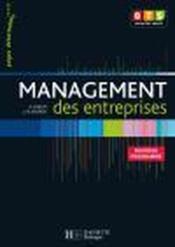 Management des entreprises ; BTS 1ère année - livre de l'élève détachable (édition 2008) - Couverture - Format classique