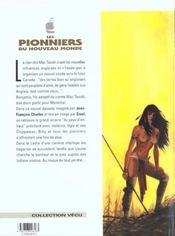 Les pionniers du nouveau monde t.9 ; la riviere en flammes - 4ème de couverture - Format classique