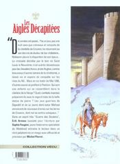 Les aigles décapitées t.16 ; la guerre des aigles - 4ème de couverture - Format classique