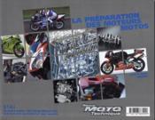 La Preparation Des Moteurs Motos - Couverture - Format classique