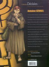 Antoine Sevres T.2 ; Aux Portes De L'Enfer - 4ème de couverture - Format classique