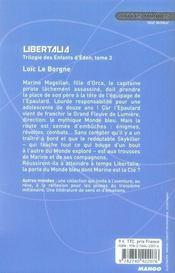 Les enfants d'Eden t.3 ; libertalia - 4ème de couverture - Format classique