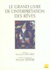 Le grand livre de l'interpretation des reve - Intérieur - Format classique