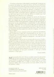 Le grand livre de l'interpretation des reve - 4ème de couverture - Format classique