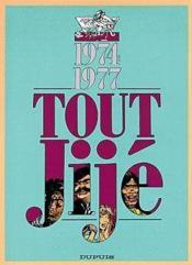 Tout Jije t.13 ; 1974-1977 - Couverture - Format classique