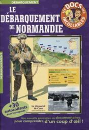 Le debarquement de normandie - Couverture - Format classique