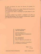 L'appeau du desir - 4ème de couverture - Format classique