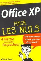 Office Xp - Intérieur - Format classique