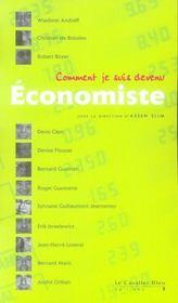 Comment je suis devenu économiste... - Intérieur - Format classique