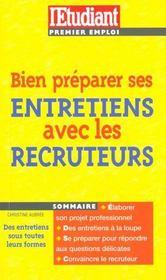 Bien Se Preparer Aux Entretiens D'Embauche - Intérieur - Format classique