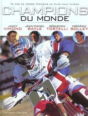 Champions Du Monde ; 15 Ans De Victoire - Intérieur - Format classique