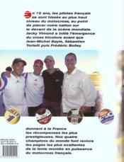 Champions Du Monde 15 Ans De Victoire - 4ème de couverture - Format classique